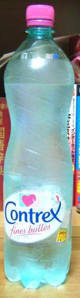 今日の水 コントレックスfines bulles