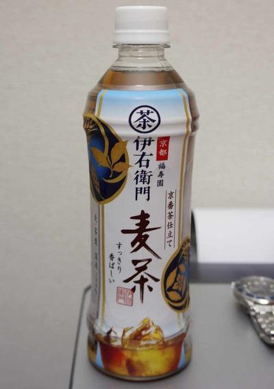 今日の飲み物 伊右衛門ブランド「京番茶仕立て麦茶」