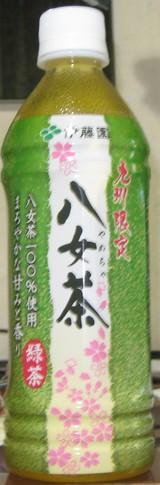 今日の飲み物 九州限定八女茶