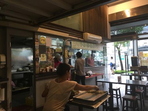 雲客来山西刀削麺の店内の様子