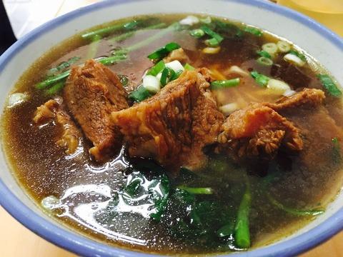 濟南牛肉麵の牛肉麺