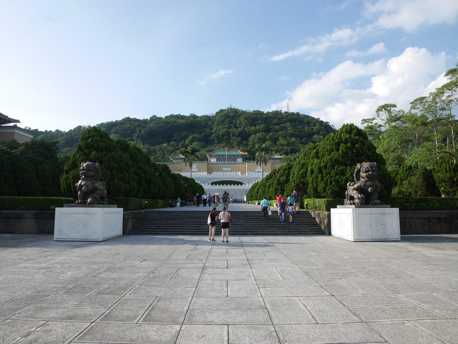 台湾の故宮博物院