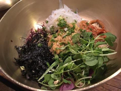 ソウルの韓国料理