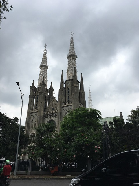 ジャカルタの教会