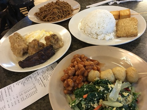 コタキナバルのマレーシア料理