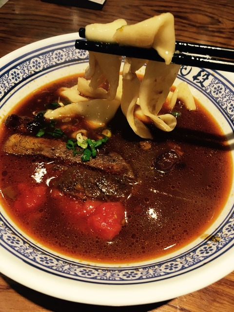 段純貞のトマト牛肉麺
