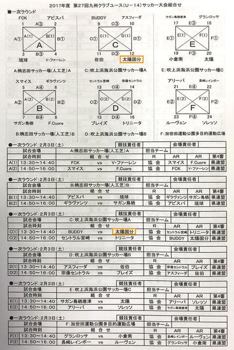 U-14九州クラブユース1