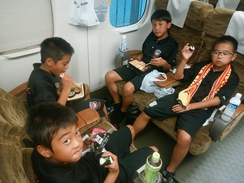 新幹線車内3