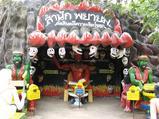お寺のお化け屋敷