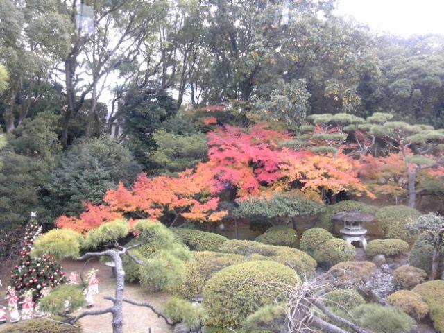 旧松本邸の紅葉