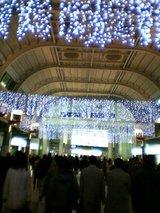 品川駅のイルミネーション