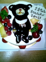 よるくまケーキ