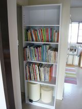 新しい本棚
