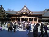 寒川神社本殿