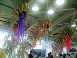 今年も始まりました、大崎の七夕飾り
