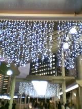 毎年恒例の品川駅イルミネーション、まずは自由通路外