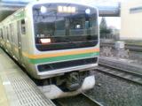 辻堂発6時19分の電車がE231系に変わった?