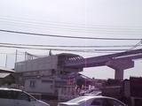 モノレール豊川駅 これができれば便利だねぇ。