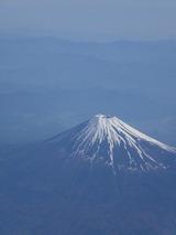 上空から富士山