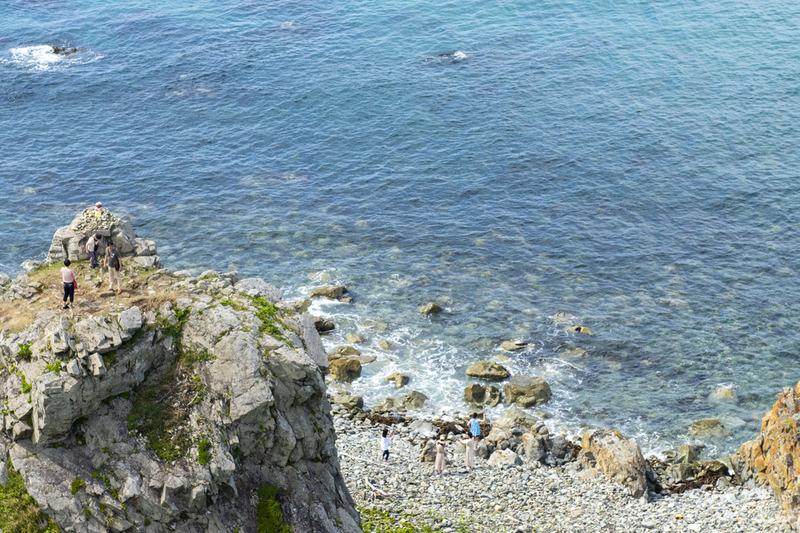 7.灯台から撮った北側の海岸DSC_2766