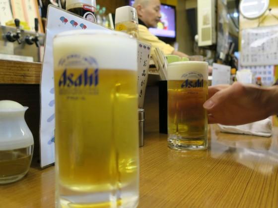 生ビールから