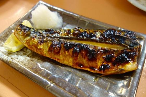 サバ塩焼き(420円)