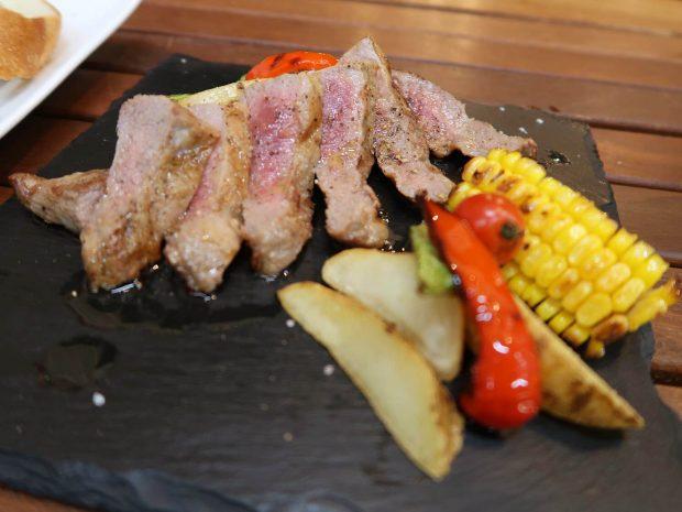 イベリコ豚セクレトステーキ(1,280円)