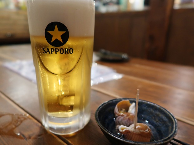 ビールはもちろんサッポロ!