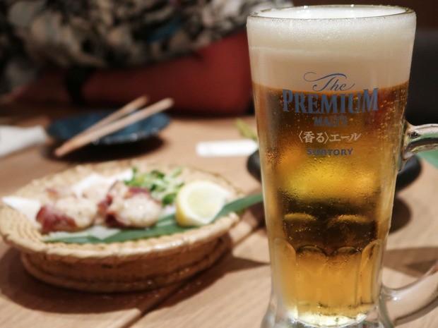 ビールはプレモル香るエール