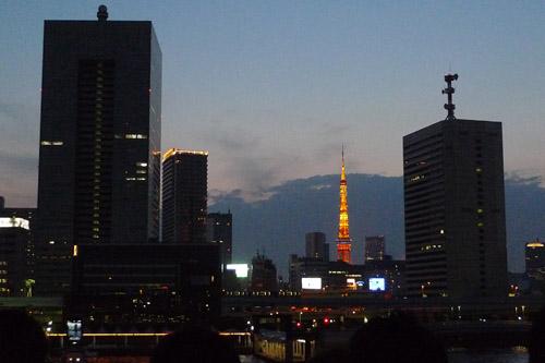 トワイライトな東京タワー