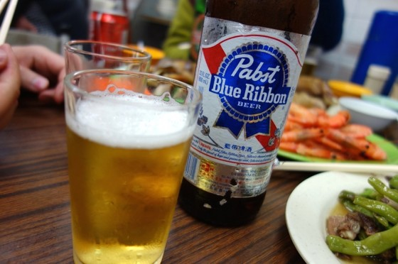 ビールは輸入ものが多かったです。
