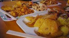 食べ放題のメキシカン