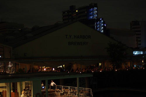 T.Y Harbor Brewing 外観