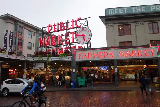 シアトル パイクプレイスマーケット