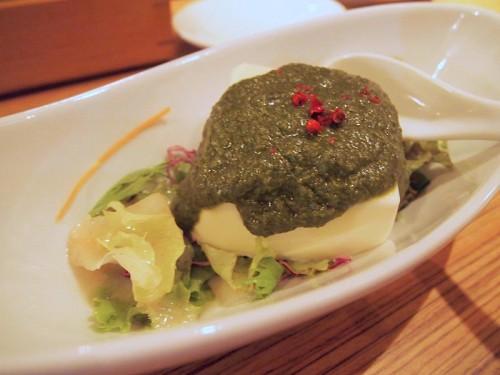 ジェノベーゼ豆腐