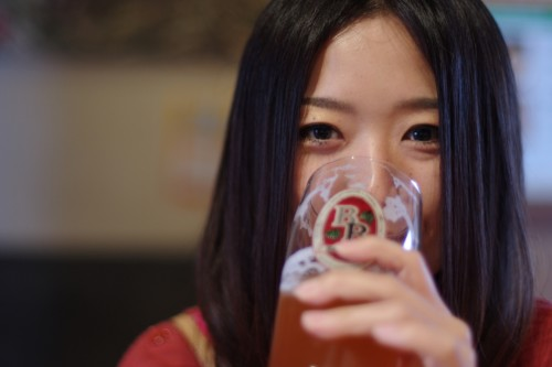 美人×麦酒 YUKIさん