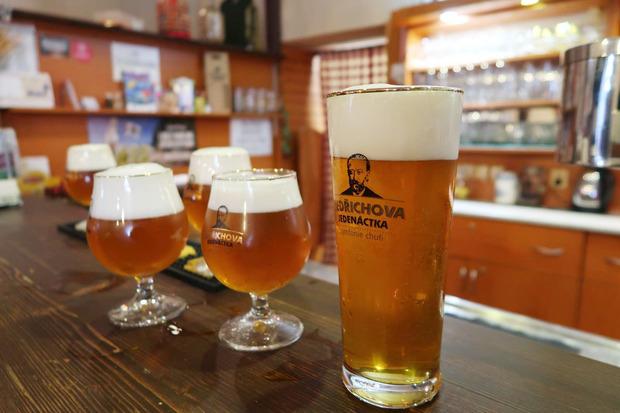 Minipivovar Veselka のビール