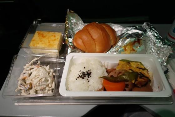 エアカナダ 機内食