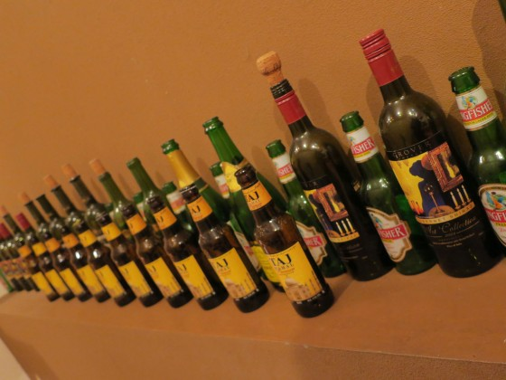 インドのビールとワイン