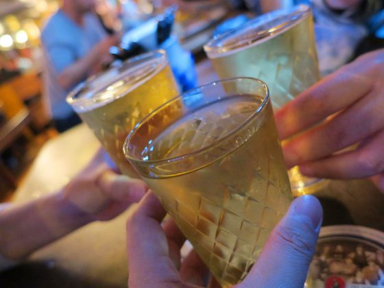 サイダーで乾杯!