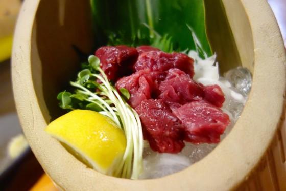 馬ヒレ肉(880円)