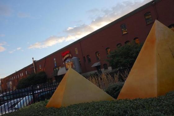 ピラミッドエールハウスのピラミッド