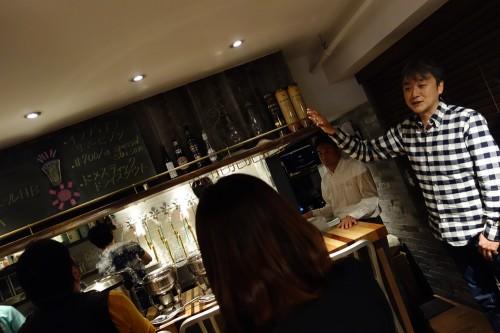 佐藤さんからビールの説明