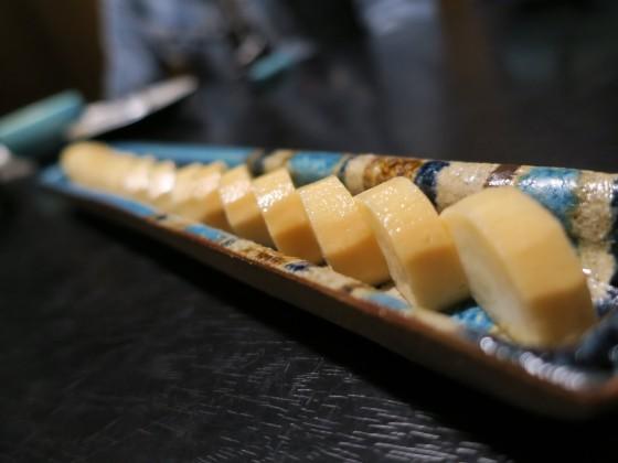 山芋のニンニク醤油漬け(400円)