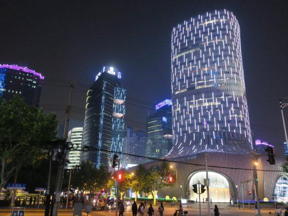 上海のブランドビル