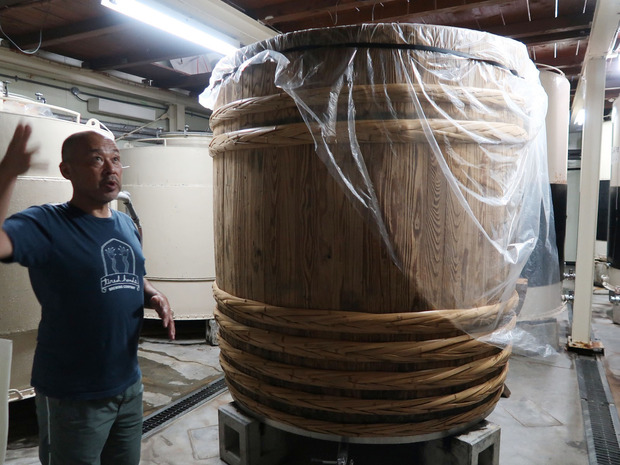 日本酒の樽
