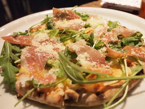 生ハム&ルッコラのピザ Sサイズ