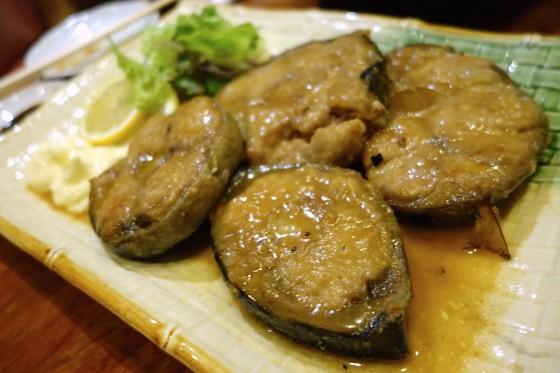 マグロのテールステーキ(500円)×2