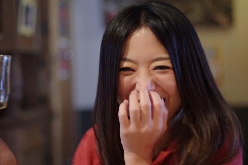 美人×麦酒 YUKIさん 笑う