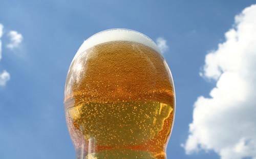 ビールでガード!